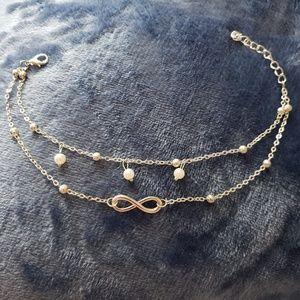 Jewelry - Double Infinity Ankle Bracelet